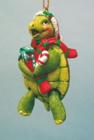 Turtle Ornament with Hinged Legs
