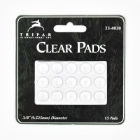 Pack of 15 Clear Adhesive Gel Pads