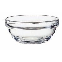 "4"" Stackable Glass Bowl"