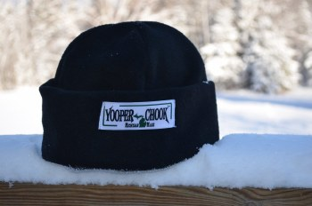 Yooper Chook Cap Black Medium YOOPERBLKM