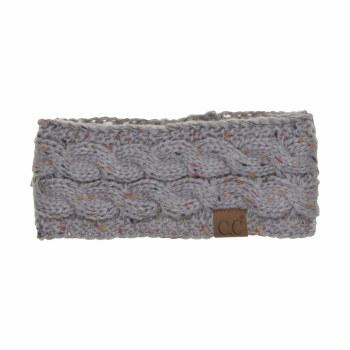 Cheveux Chunky Knit Headwrap Natural  HW-33NATGR