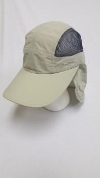 Panama Jack Tech Flap Cap Khaki Large/Extra Large PJ153KHKL/X