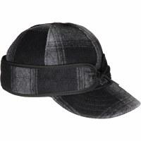 Stormy Kromer Original Black/Grey Plaid 7 1/8 SK50010NB/GP71/8