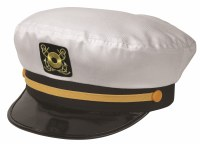 Broner Yacht Cap White Adjustable 79-72WHT