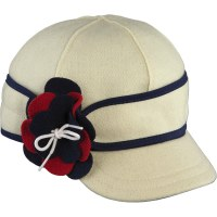 Stormy Kromer Benchwarmer Petal Pusher Red/White/Blue 6 7/8 SK50460NRW67/8