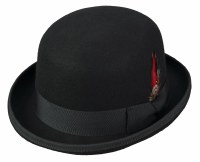 Broner Black Felt Derby Medium 73-751M