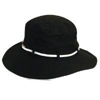 Dorfman Pacific Bucket W/ Tie Black LC455BLK/T