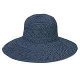 Wallaroo Scrunchie Hat w/ Dots Navy WHSCR-22NVY