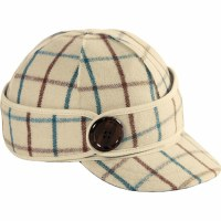 Stomry Kromer Button Up Cap Wintertergreen Plaid 7 SK50390WGPD700
