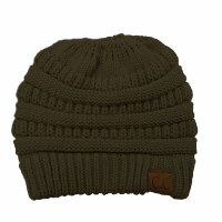 Cheveux CC Beanie Pony Tail New Olive MB-20ANWOLV