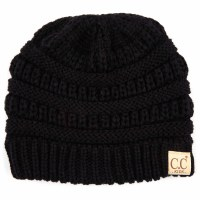 Cheveux Children's Beanie Black YJ-847-KIDSBLK