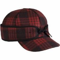 Stormy Kromer Millie Kromer Ponytail Cap Red/Black SK50650B/R67/8
