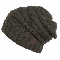 Cheveux Over-sized Slouchy New Olive HAT-100-NWOLV
