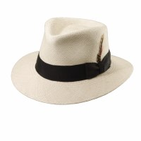 Dorfman Pacific Panama Hat Natural Medium P207-NATM
