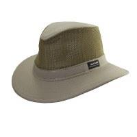 Panama Jack Khaki Twill Safari W/Mesh Medium PJ39 MESHM