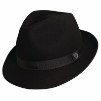 Dorfman Pacific Snap Brim Blk Medium DF42BLKM