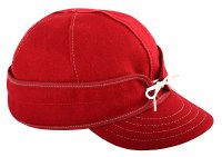 Stormy Kromer Benchwarmer Cap Red/White 7 7/8 SK5045-RWT778