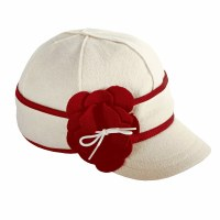 Stormy Kromer Petal Pusher Benchwarmer Cap Red/ White 7 1/2 SK5046-COA-RW74/8