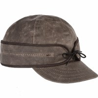 Stormy Kromer Waxed Cotton Dark Oak 7 7/8 SK50420DOK77