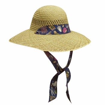 "Dorfman Pacific Womens 4"" w/Tie Garden Print L800G"