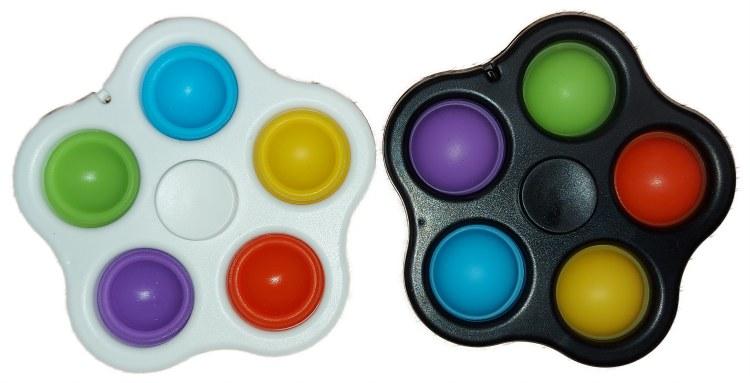Pop Fidget Spinner - 5 Pops