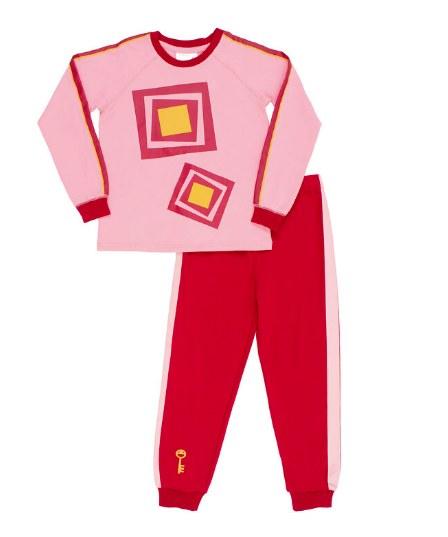 Passe-Partout - Pyjama Passe-Carreau (3-4ans)
