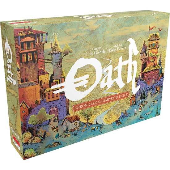 Oath - Chronicles of Empire and Exile (Ang.)