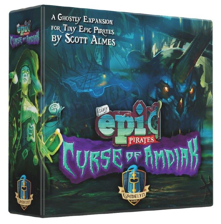 Tiny Epic Pirate - Curse of Amdiak