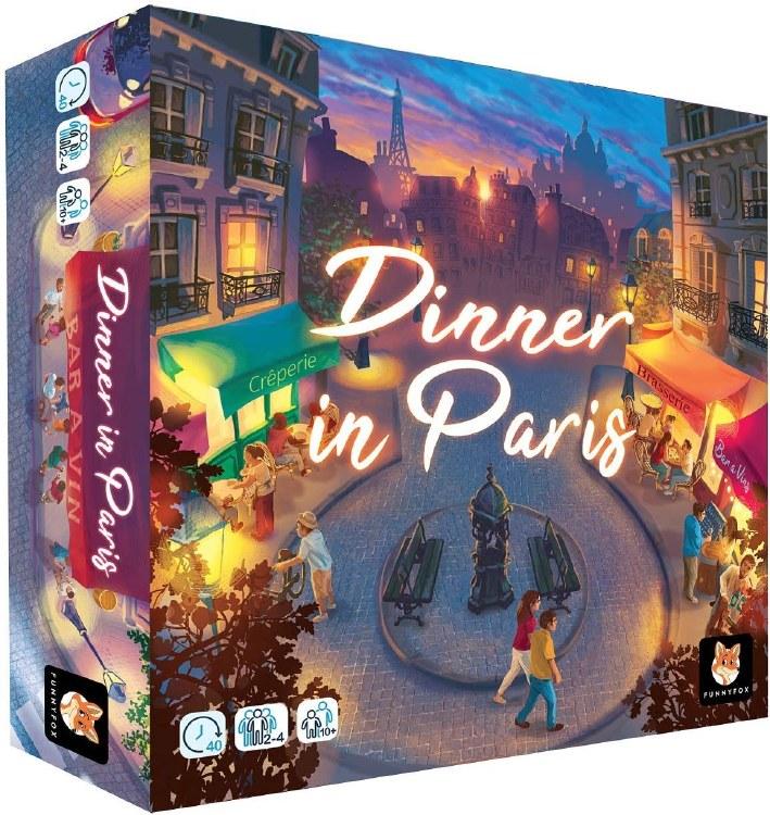 Dinner In Paris (Ang.)