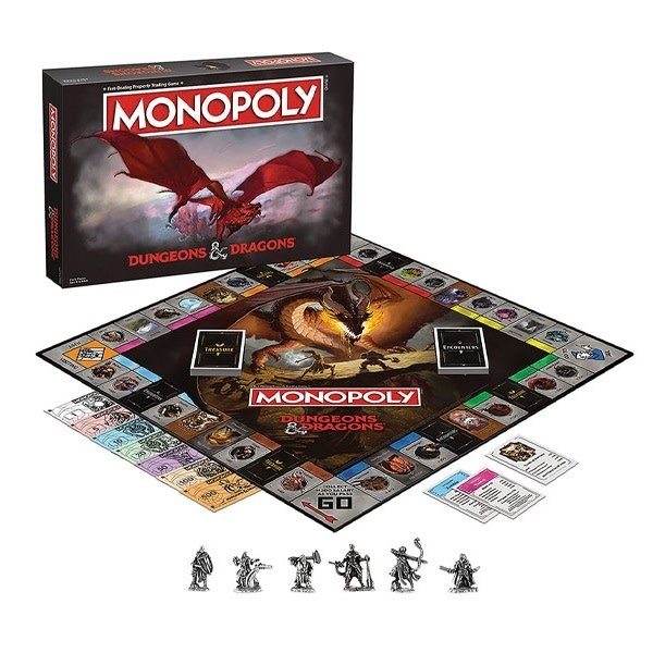 Monopoly - Dungeons & Dragons (Ang.)