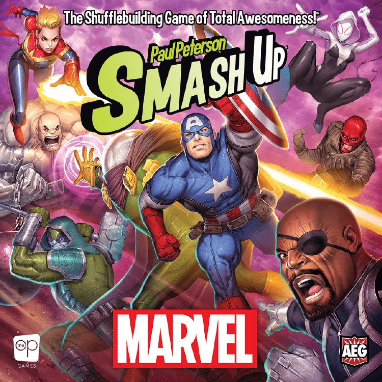 Smash Up Marvel (Ang .)