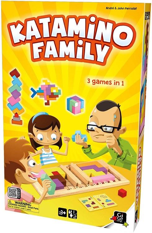 Katamino Family (Ang.) (Instructions Fr. incluses)