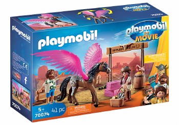 Playmobil: The Movie - Marla et Del avec cheval ailé