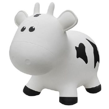 Farm Hoppers - Vache blanche