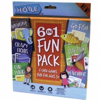 Hoyle 6 en 1 «Fun pack»