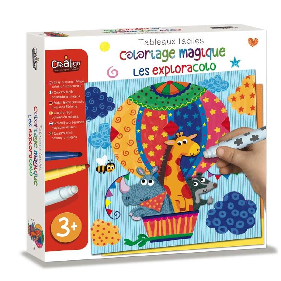 Coloriage magique   Les Exploracolo