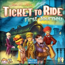 Ticket to ride - First Journey (Ang.)