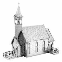 Metal Earth - Église de campagne