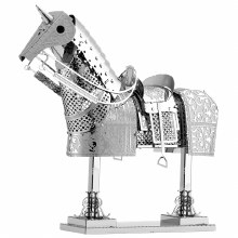 Metal Earth - Armure de cheval