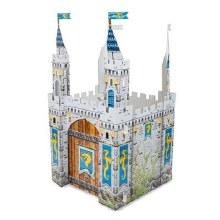 Château médiéval géant en carton