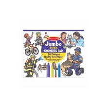Jumbo Coloring pad - Ville