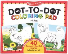 Dot-t-Dot Coloring Pad - Farm