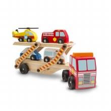 Transporteur de véhicules d'urgences