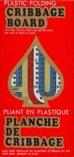 Planche de Cribbage pliante 3 couleurs