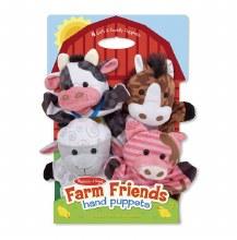 Marionnettes Main - Amis de la ferme