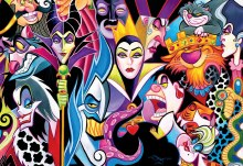 Casse-tête, 2000 mcx - Disney Villains