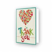 Carte Diamond Dotz - Merci Coeur