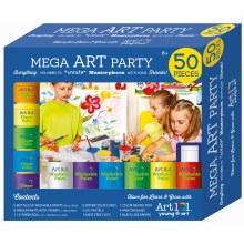 Mega Art Party - 50 pièces