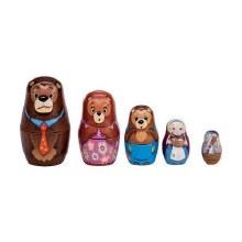 Poupées russes famille Ours