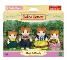 Calico Critters - Famille Maple Cat